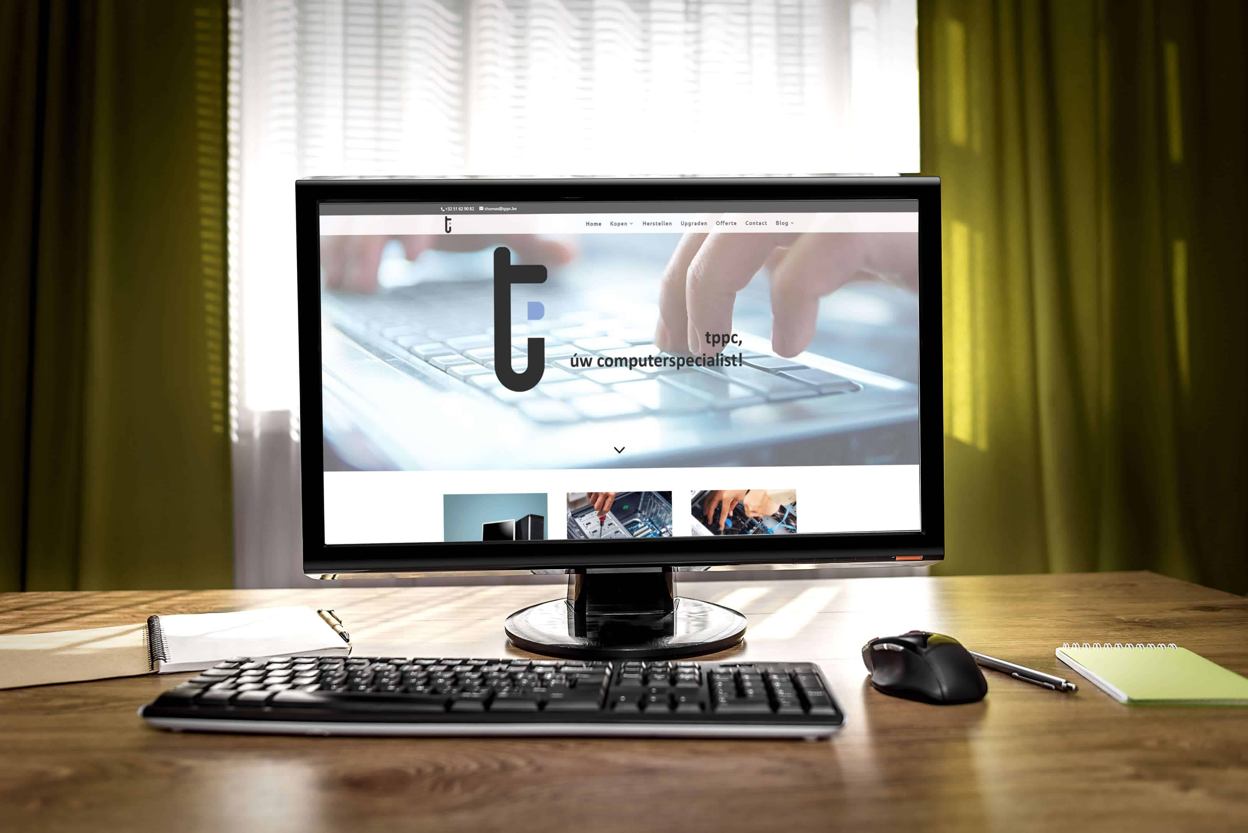 nieuwe desktop computer Izegem