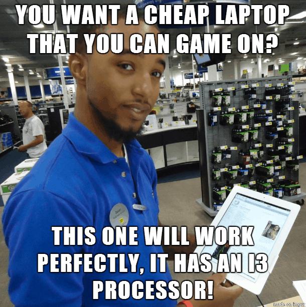 laptop processor